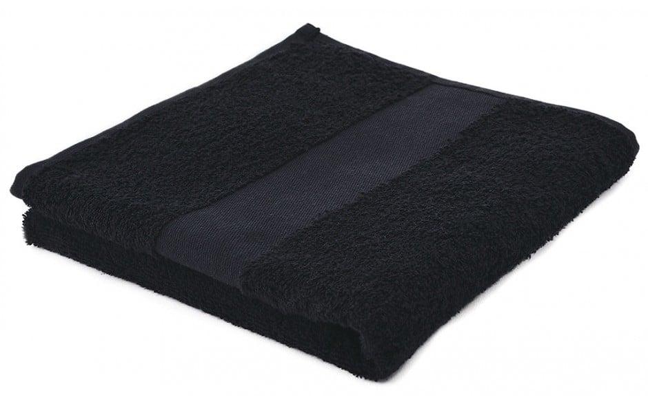 Handtuch Classic Schwarz