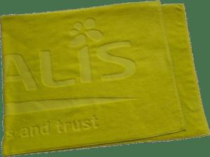 Handtücher mit Logo einweben
