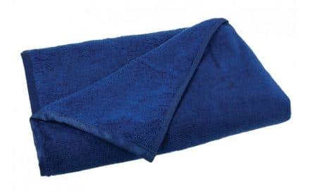 Mikrofaser Badetuch marineblau
