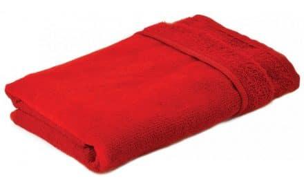 Mikrofaser Handtuch rot
