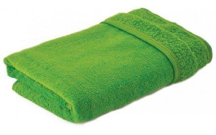 Mikrofaser Handtuch grün