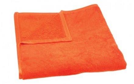 Mikrofaser Handtuch orange